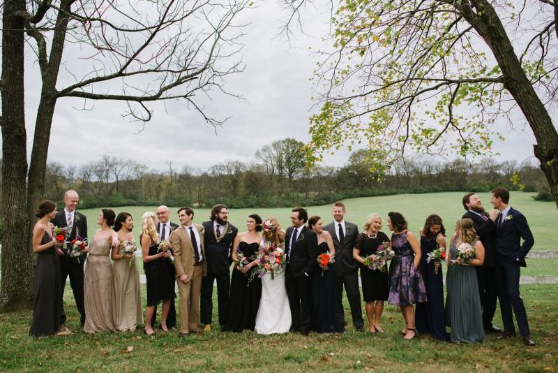fun-bridal-party-poses-800x534 Laurie + Craig - Antrim Wedding | Columbia, TN