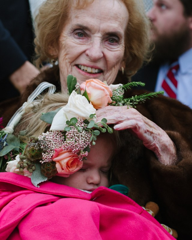 grandmother-with-flower-girl-640x800 Laurie + Craig - Antrim Wedding | Columbia, TN
