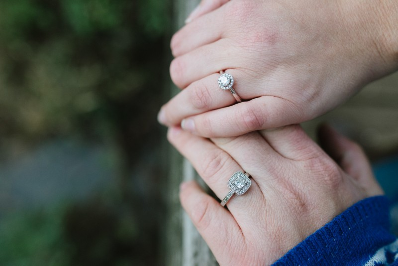 hands-engagement-rings-800x534 Amy + Tara Engagement Session | Nashville, TN