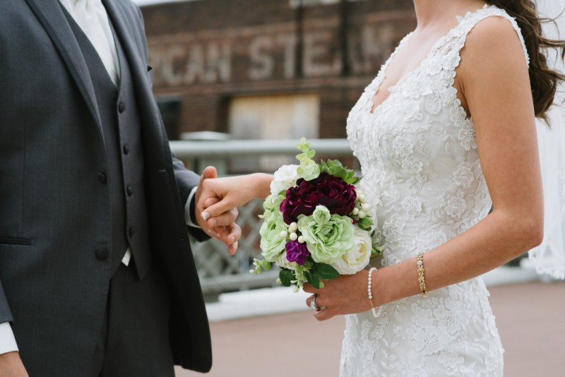 holding-hands-800x534 Kristen and Nick Wedding at aVenue | Nashville, TN