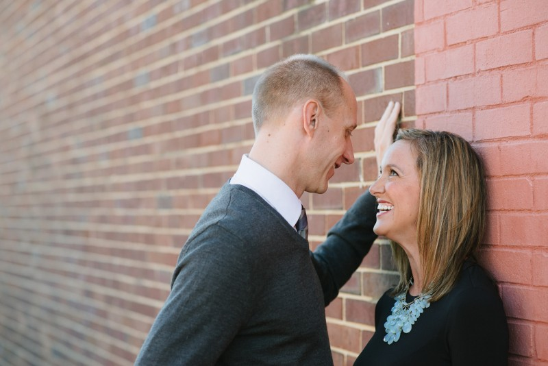 laughing-engagement-photos-800x534 Nicole + Kevin | Nashville, TN Engagement Session