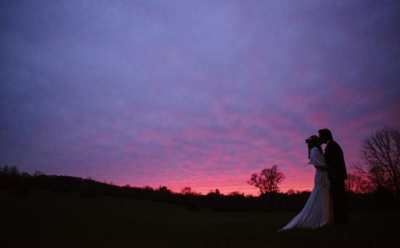 perfect-sunset-wedding-photo-800x496 Laurie + Craig - Antrim Wedding | Columbia, TN