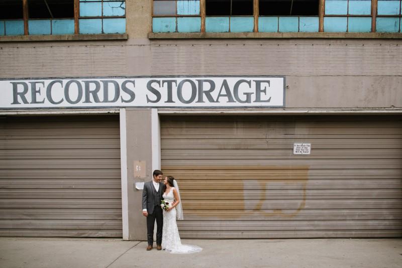 records-storage-nashville-portrait-800x534 Kristen and Nick Wedding at aVenue | Nashville, TN
