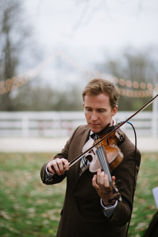 violinist-wedding-534x800 Laurie + Craig - Antrim Wedding | Columbia, TN