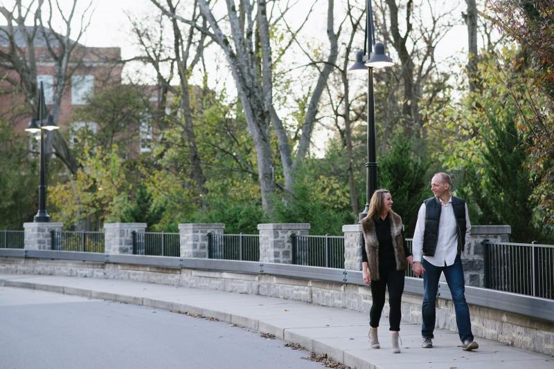 walking-engagement-photo-800x534 Nicole + Kevin   Nashville, TN Engagement Session