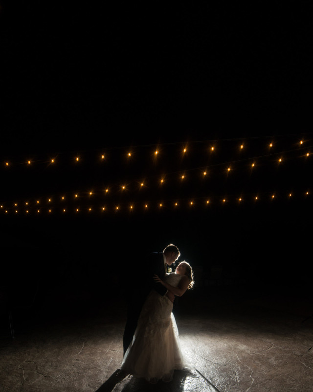 bride-groom-under-lights-640x800 Rachel + Kyle | Nelson Andrews Lodge | Nashville, TN