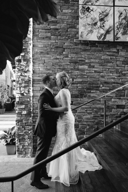 first-look-kiss-534x800 Rachel + Kyle | Nelson Andrews Lodge | Nashville, TN