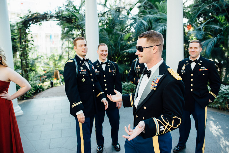 funny-groom-800x534 Julia and Wes | Nashville, TN Winter Wedding | Gaylord Opryland Hotel