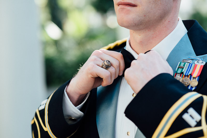 military-groom-attire-800x534 Julia and Wes | Nashville, TN Winter Wedding | Gaylord Opryland Hotel