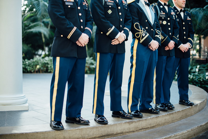 military-wedding-dress-800x534 Julia and Wes | Nashville, TN Winter Wedding | Gaylord Opryland Hotel