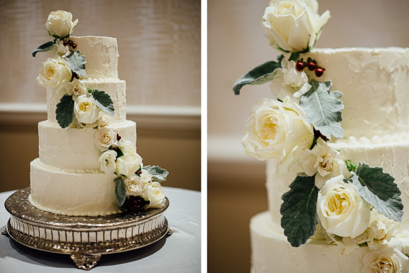 opryland-elegant-wedding-cake-800x534 Julia and Wes | Nashville, TN Winter Wedding | Gaylord Opryland Hotel