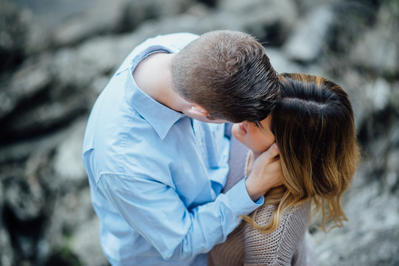 intimate-engagement-photography Rock Island, Tennessee   Waterfall Engagement