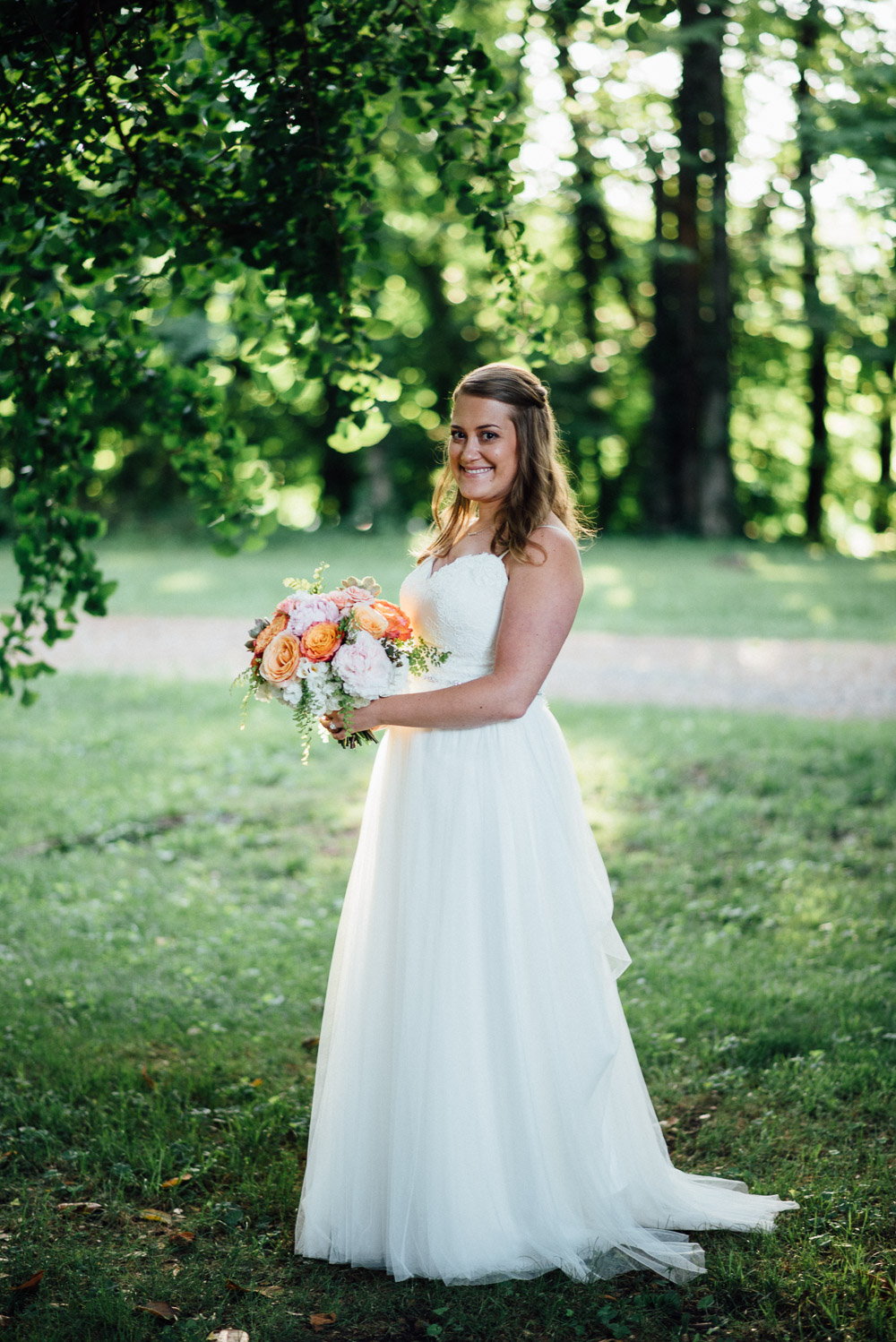bridal-portrait Amy + Tara | Travellers Rest Plantation Wedding