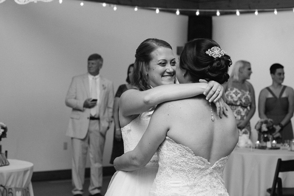 first-dance-brides Amy + Tara | Travellers Rest Plantation Wedding