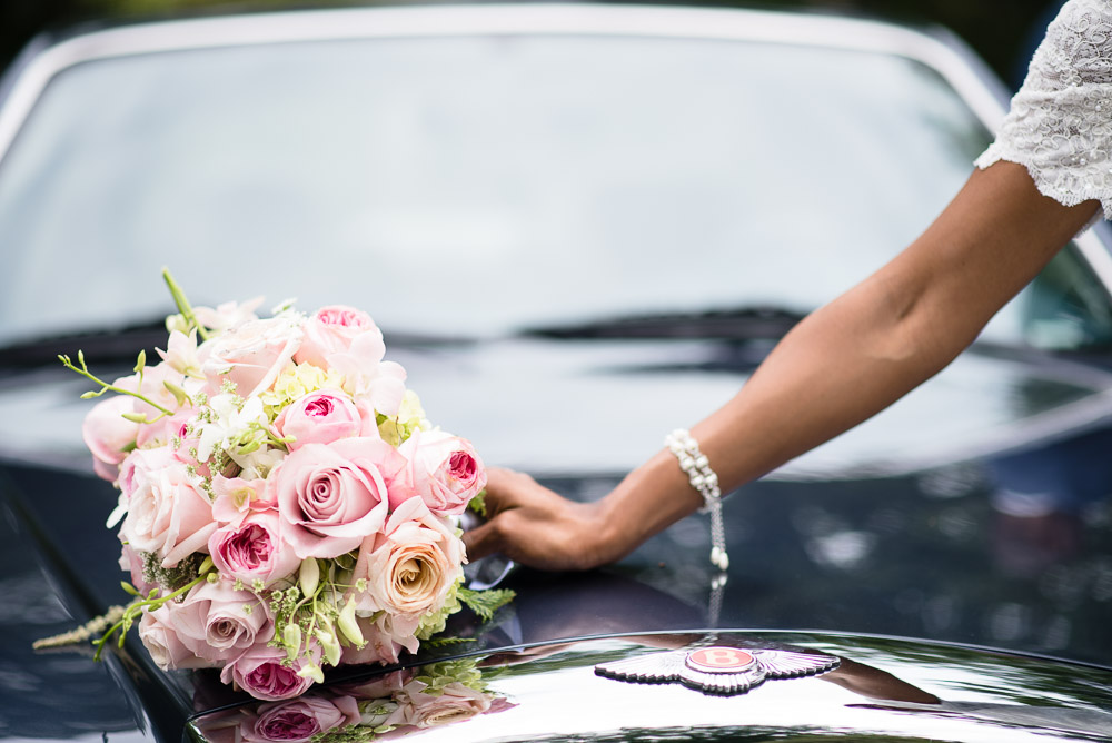 bentley-wedding-car Cloisters Castle Wedding | Towson Maryland