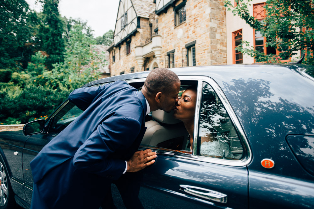 cloisters-castle-car Cloisters Castle Wedding | Towson Maryland