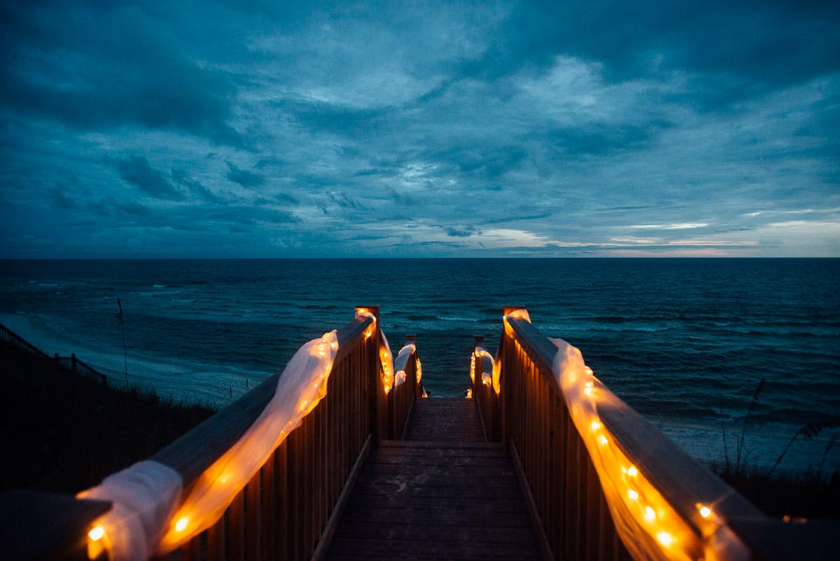 destin beach house destination wedding kasey and rocky