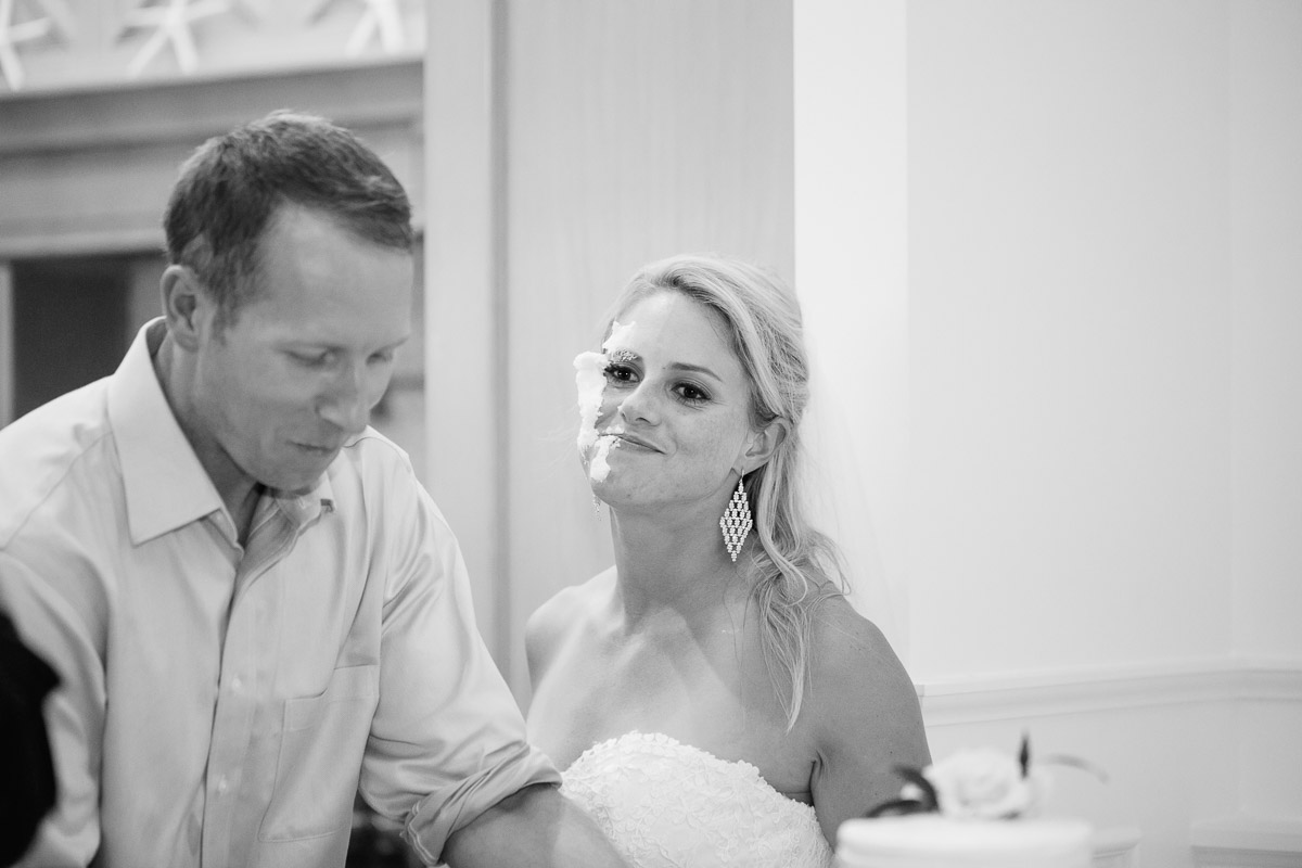 cake-smash Destin Beach House | Destination Wedding | Kasey and Rocky