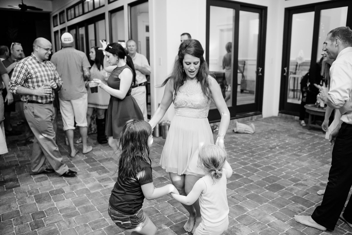 wedding-dancing Destin Beach House | Destination Wedding | Kasey and Rocky