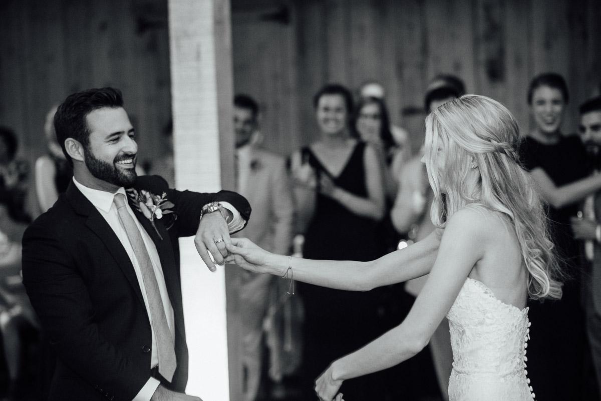 fun-first-dance Becky and Alex | Green Door Gourmet - Fall Nashville Wedding