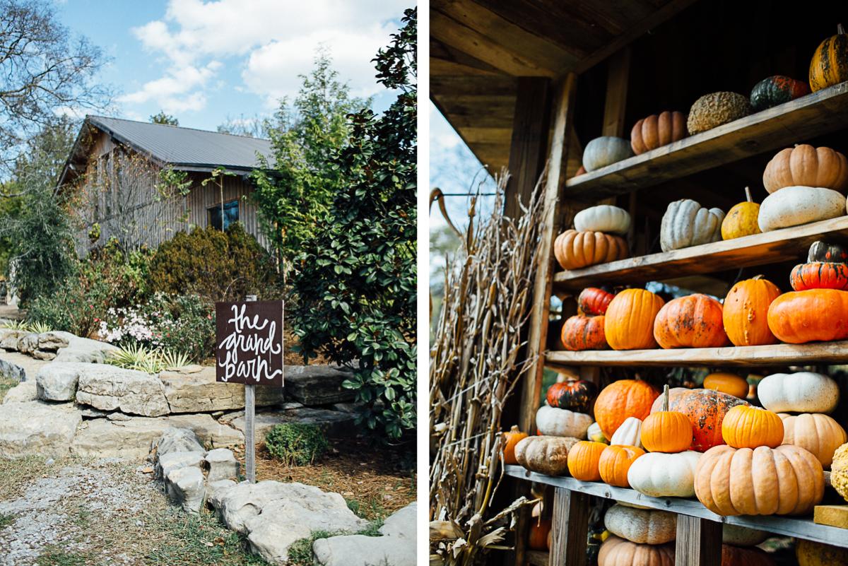pumpkin-fall-wedding-tennessee Becky and Alex | Green Door Gourmet - Fall Nashville Wedding