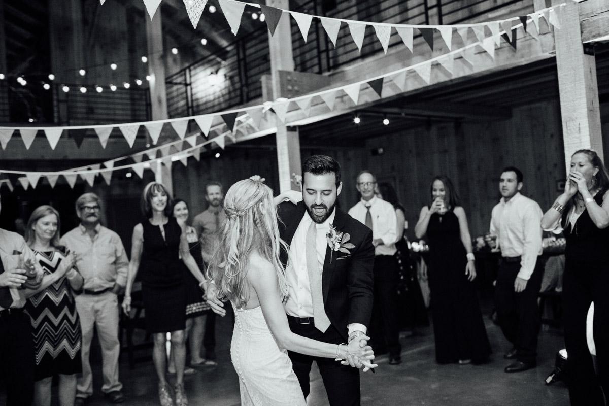 reception-dancing Becky and Alex | Green Door Gourmet - Fall Nashville Wedding