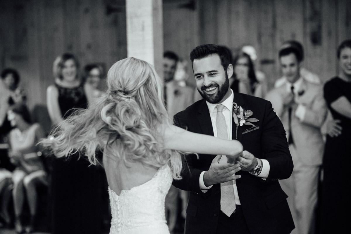 twirling-bride Becky and Alex | Green Door Gourmet - Fall Nashville Wedding