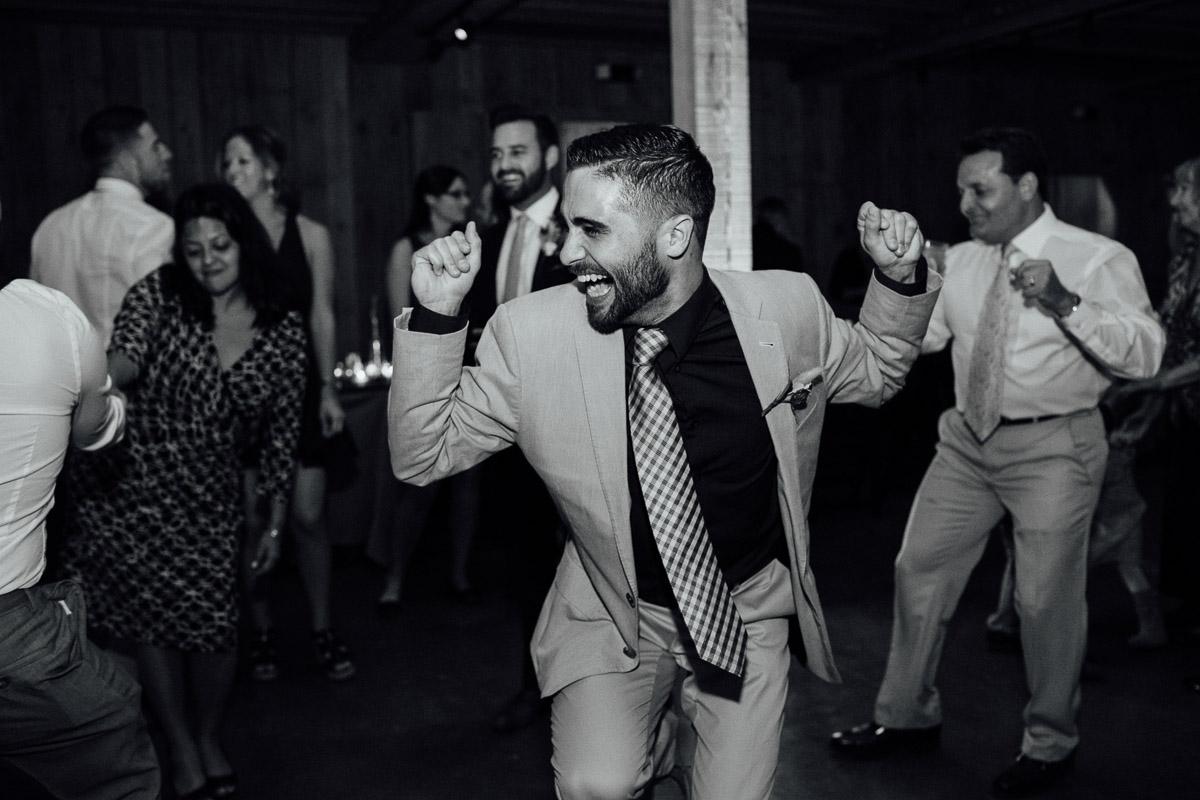 wedding-guest-dancing Becky and Alex | Green Door Gourmet - Fall Nashville Wedding