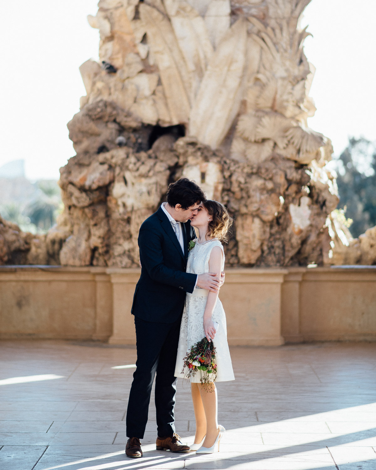 BARCELONA-16 Robert + Alyssa | Barcelona Elopement Photographer