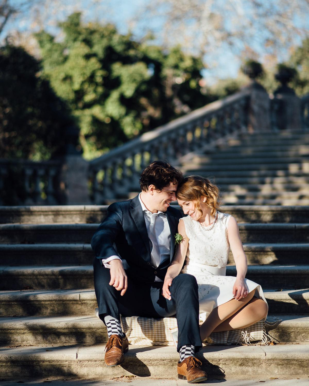 BARCELONA-CIUTADELLA Robert + Alyssa | Barcelona Elopement Photographer