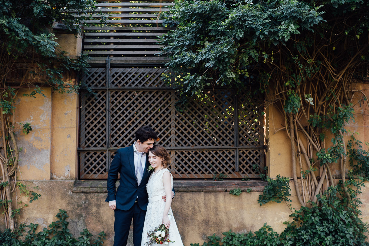 BARCELONA-PARK-WEDDING Robert + Alyssa | Barcelona Elopement Photographer