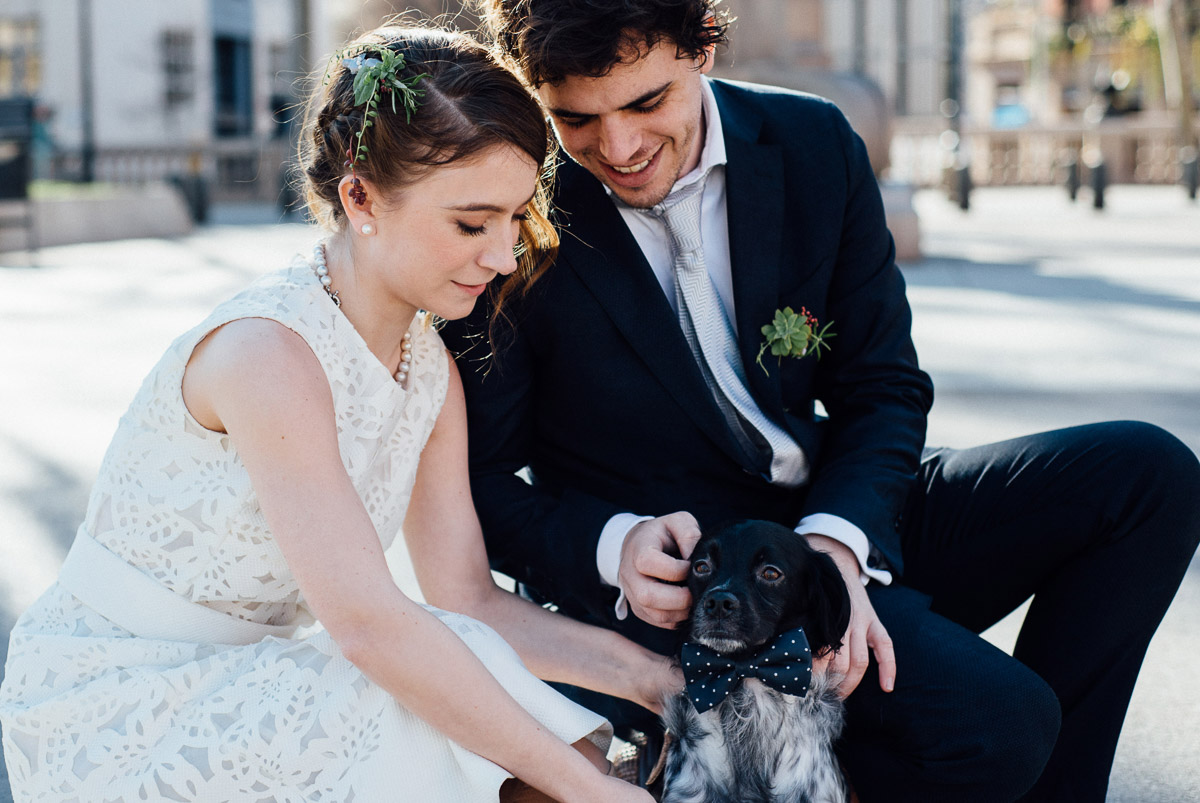 DOG-WEDDING-PHOTOGRAPHY Robert + Alyssa | Barcelona Elopement Photographer